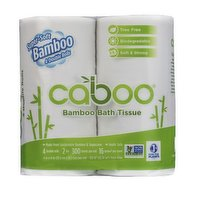 Caboo Caboo - Bamboo Bath Tissue, 4 Each