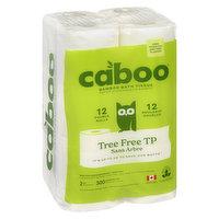 Caboo Caboo - Bamboo Bath Tissue, 12 Each