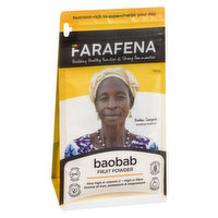 Farafena Farafena - Baobab Powder - Fruit Powder, 150 Gram