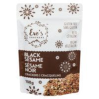 Eve's Crackers Eve's Crackers - Black Sesame, 108 Gram