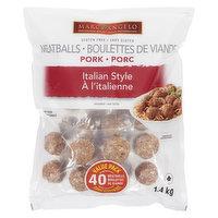 Marc Angelo - Pork Meatballs - Italian Style, 1.4 Kilogram