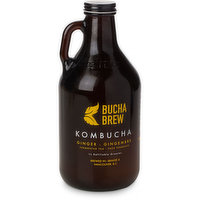 A healthy fermented beverage made from organic green and black teas, flavoured with whole organic ingredients. Offering a slightly effervescent, probiotic, low calorie alternative. Refillable Growler.