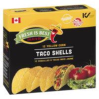 Fresh Is Best Fresh Is Best - Yellow Corn Taco Shells, 12 Each