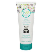 Provides long-lasting moisture with naturally soothing ingredients of certified organic bamboo extract & aloe vera to help to rebuild the skins natural defenses. Leaves baby's skin soft & nourished.