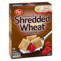 Post Post - Spoon Size Shredded Wheat & Bran, 525 Gram