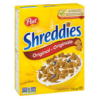 Post Post - Shreddies Cereal  - Original, 550 Gram