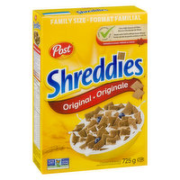 Family Size!Original 100% Whole Grain WheatStays Crispy Longer!