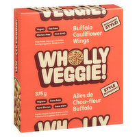 Wholly Veggie! Wholly Veggie! - Cauliflower Wings - Vegan Buffalo, 375 Gram