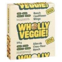 Wholly Veggie! Wholly Veggie! - Cauliflower Wings - Vegan Ranch, 375 Gram