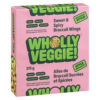 Wholly Veggie! Wholly Veggie! - Broccoli Wings -  Kung Pao, 375 Gram