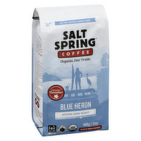 Salt Spring Coffee - Organic Blue Heron Whole Bean