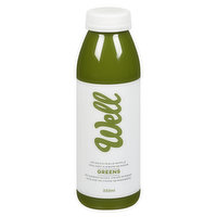 Well - Greens Cold Pressed Juice, 333 Millilitre