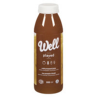 Well Well - Played Cold Pressed Juice, 333 Millilitre