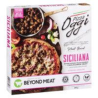 Oggi Oggi - Pizza - Siciliana Beyond Sausage Italian Crumbles, 360 Gram