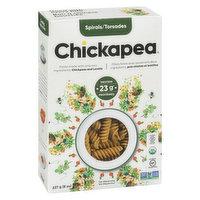 Chickapea Pasta - Organic Chickpea & Lentil Spiral Pasta, 227 Gram
