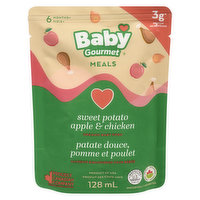 Baby Gourmet - Organic Baby Food - Sweet Potato Apple & Chicken