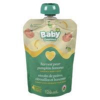 Baby Gourmet Baby Gourmet - Organic Baby Food - Harvest Pear Pumpkin & Banana, 128 Millilitre