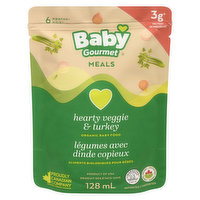 Baby Gourmet Baby Gourmet - Organic Hearty Vegetable with Turkey, 128 Millilitre