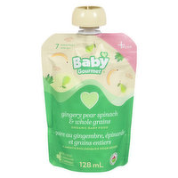 Baby Gourmet Baby Gourmet - Organic Baby Food - Ginger Pear Spinach & Millet, 128 Millilitre