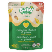 Baby Gourmet Baby Gourmet - Black Bean, Sweet Corn Chicken & Quinoa, 128 Millilitre