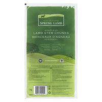 New Zealand - Spring Lamb Boneless Stew Chunks, 1 Kilogram