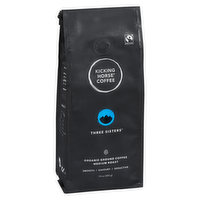 Fair Trade. Organic. Smooth, Savory, Seductive. Medium Roast.