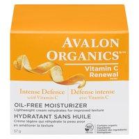 Avalon Organics Avalon Organics - Rejuvenating Oil Free Moisturizer Vitamin C Renew, 57 Gram