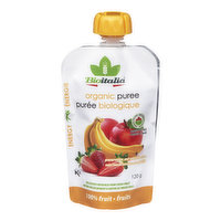 Bioitalia - Organic Puree,Apple Strawberry