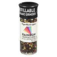 Cape Herb & Spice Cape Herb & Spice - Rainbow Peppercorns With Grinder, 56 Gram