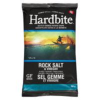 Hardbite - Kettle Cooked Potato Chips-Rock Salt & Vinegar
