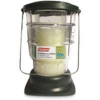 Acts as an naturally occuring mosquito repellent making this citronella lantern perfect for camping supplies, or patio accessories.