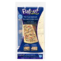 6 Artisan Pizza Thin Rustic White Flatbreads. Grill it and Bake it! 7g of Protein per Flatbread.