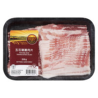 Savoury Choice - Pork Belly Sliced (Bacon), 210 Gram