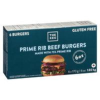 The Keg - Prime Rib Burgers - 6oz