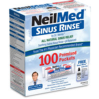NeilMed - Sinus Rinse Premixed Refill Packets, 100 Each