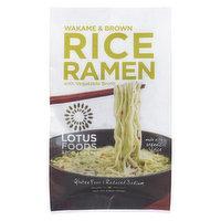 Lotus Foods - Wakame & Brown Rice Ramen w/ Vegetable Broth