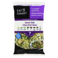 Contains 7 superfoods. Gluten free.Includes: Broccoli, Brussel Sprouts, Cabbage, Kale, Chicory, Dried Cranberries, Roasted Pumpkin Seeds. Poppyseed Dressing