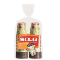 Solo Solo - Cafe to Go Cups & Lids, 20 Each