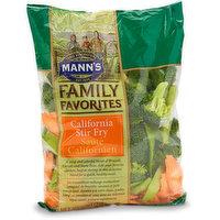 Combination of Sliced Carrots, Sugar Snap Peas, Broccoli.