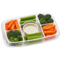 Mann's Mann's - Organic Vegetable Tray with Ranch Dip, 461 Gram