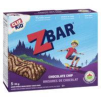 Clif - Kid Z Organic Bar Chocolate Chip, 5 Each
