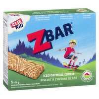 Clif - Kid Z Organic Bar Iced Oatmeal Cookie.