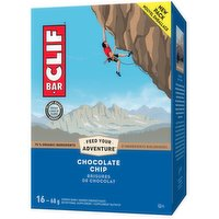 Clif - Chocolate Chip Energy Bar, 16 Each