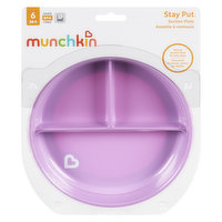 Includes one suction base plate with deep sides for easy scooping. Strong suction base helps prevent messes & spills, easy for parent removal. BPA-free