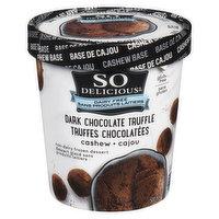 So Delicious - Dark Chocolate Truffle Frozen Dessert - Dairy Free, 500 Millilitre