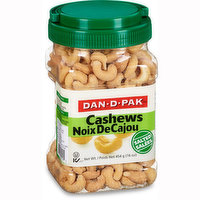 Dan-D-Pak - Cashews- Salted, 454 Gram