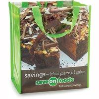 Save-On-Foods - Reusable Shopping Bag- Cake Artwork, 1 Each
