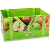 Keep your groceries compact in this spacious box.