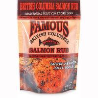 Famous Famous - Famous BC Salmon Rub, 100 Gram