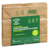 Bag To Earth - Food Compost Waste Bags Large, 5 Each